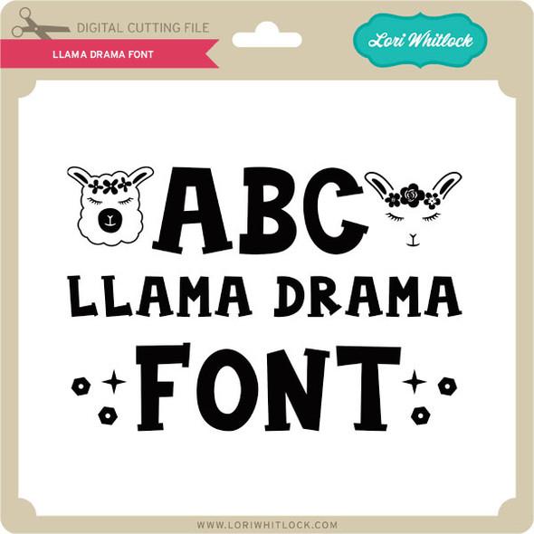 Llama Drama Font
