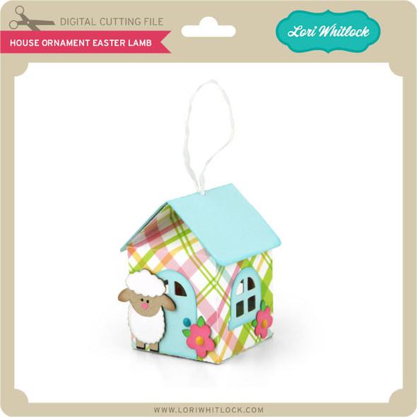 House Ornament Easter Lamb