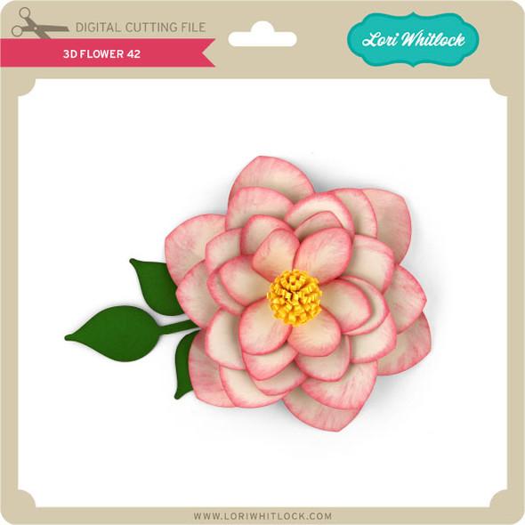 3D Flower 42