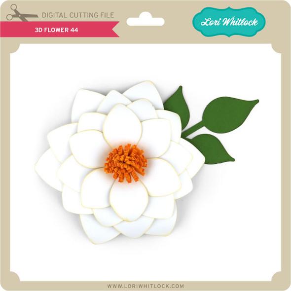 3D Flower 44