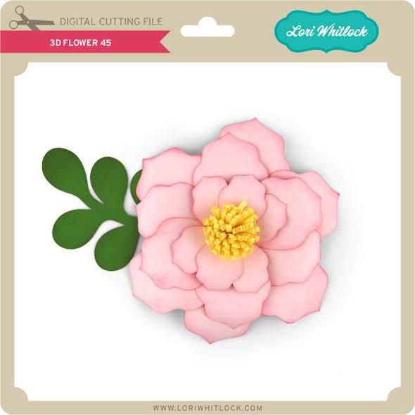 3D Flower 45