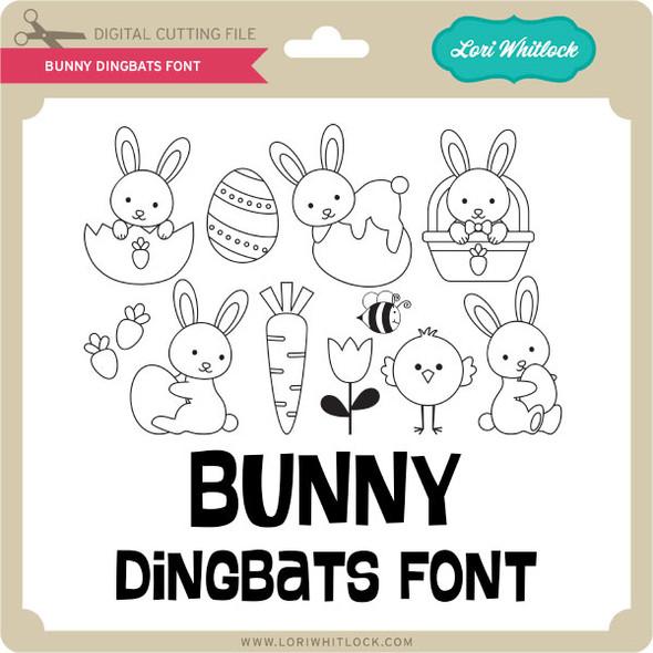 Bunny Dingbats Font 2