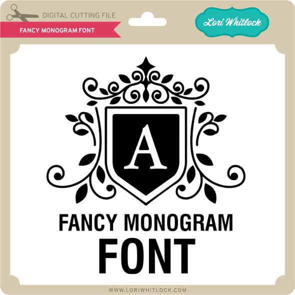 Fancy Monogram Font