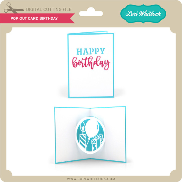 Pop Out Card Birthday