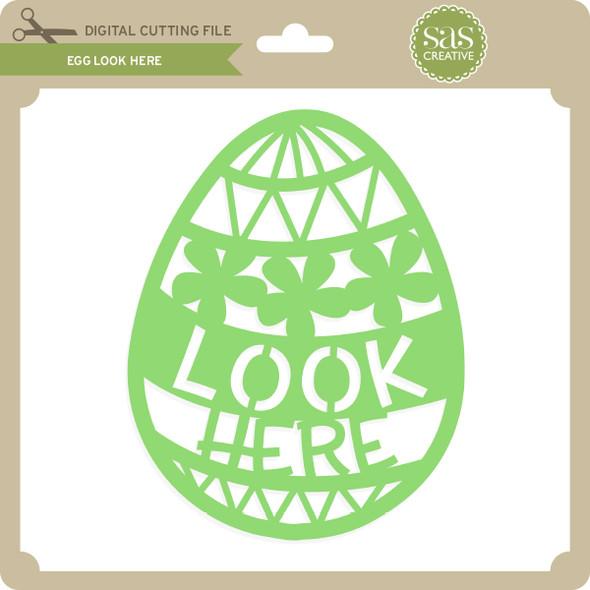 Egg Look Here
