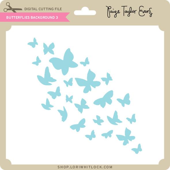 Butterflies Background 3