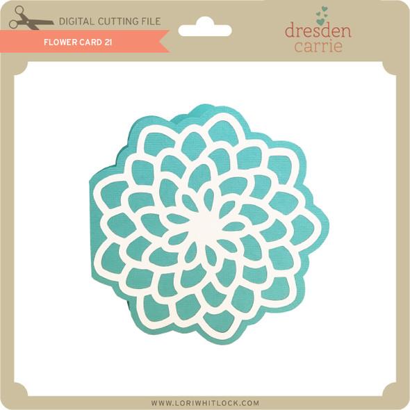 Flower Card 21