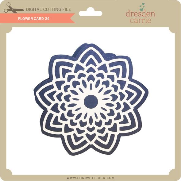 Flower Card 24
