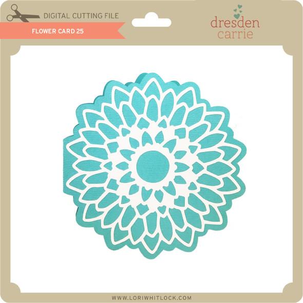 Flower Card 25