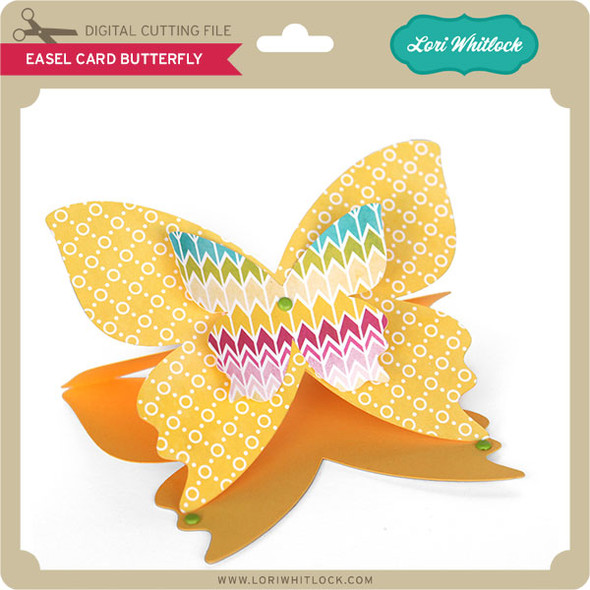 Easel Card Butterfly