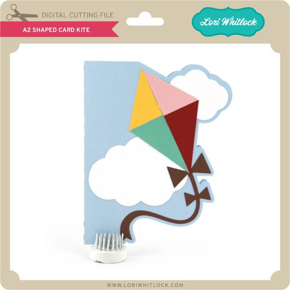 A2 Shaped Card Kite