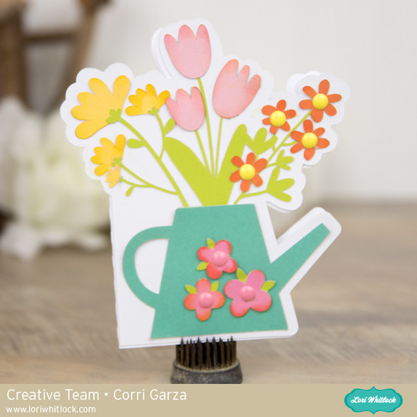 A2 Shaped Card Watering Can