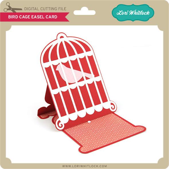 Bird Cage Easel Card