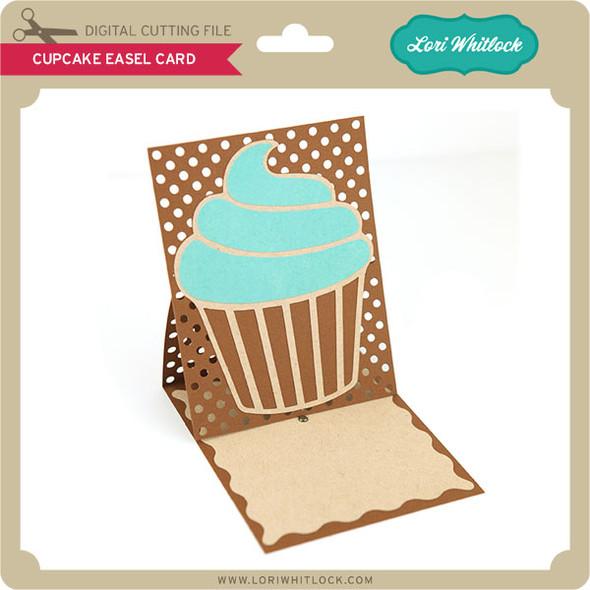 Cupcake Easel Card