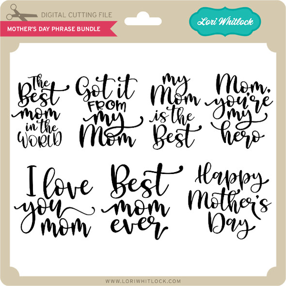 Mother's Day Phrase Bundle