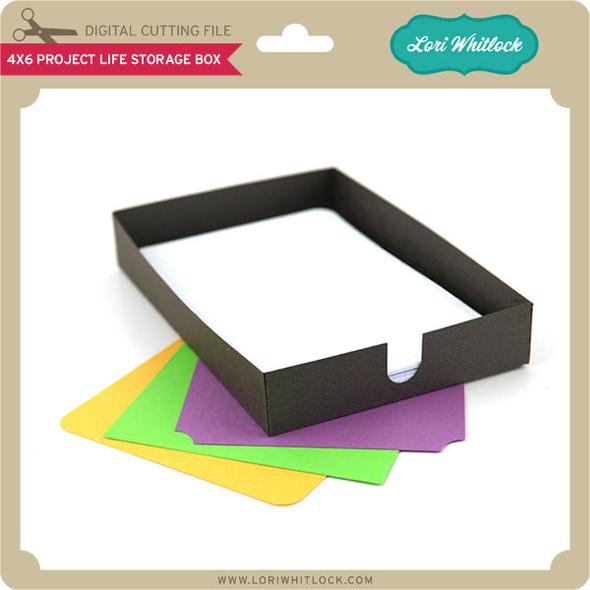 4x6 Project Life Storage Box