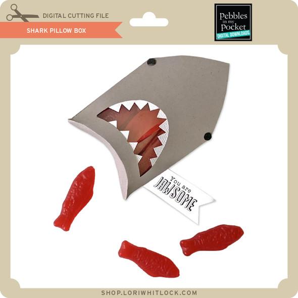 Shark Pillow Box