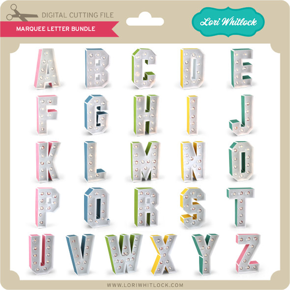 Marquee Letter Bundle
