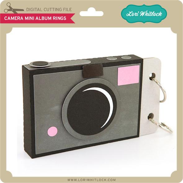 Camera Mini Album Rings