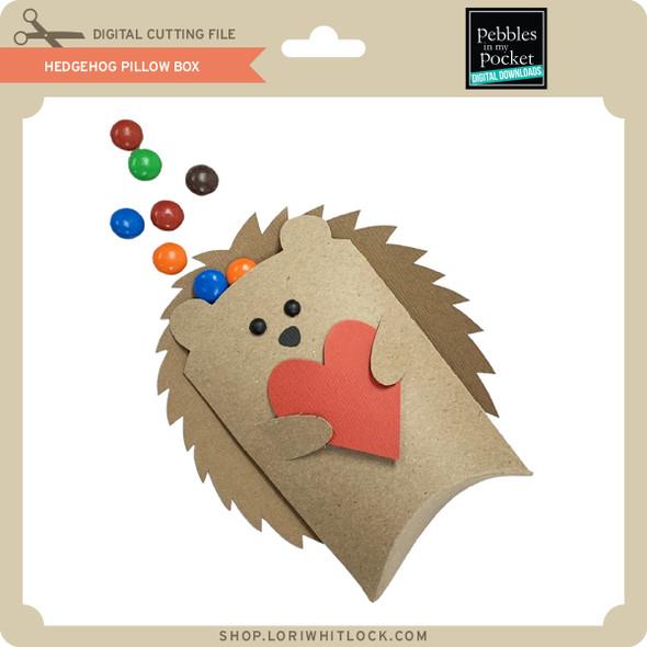 Hedgehog Pillow Box