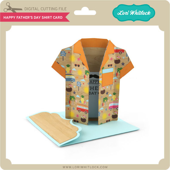 Happy Father's Day Shirt Card
