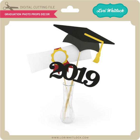 Graduation Photo Props Decor