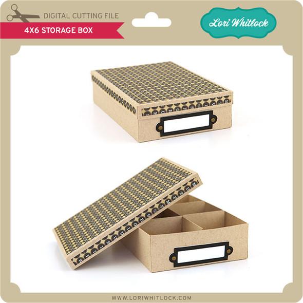 4x6 Storage Box