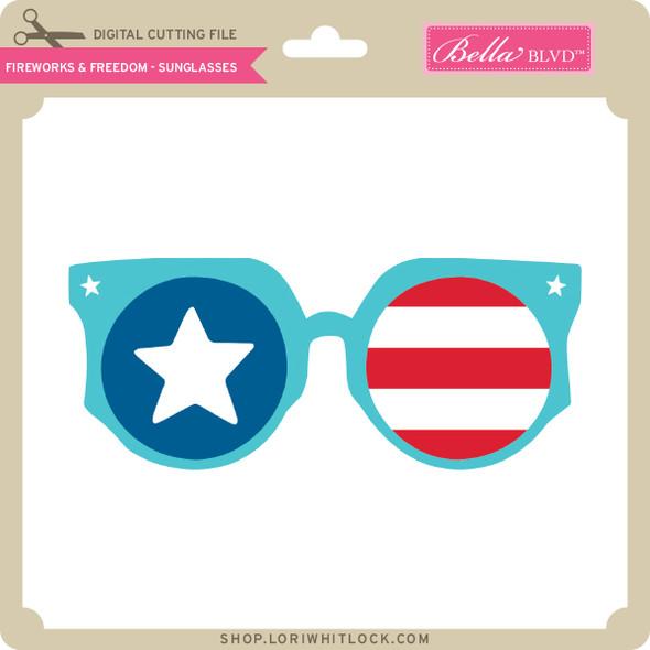 Fireworks & Freedom - Sunglasses