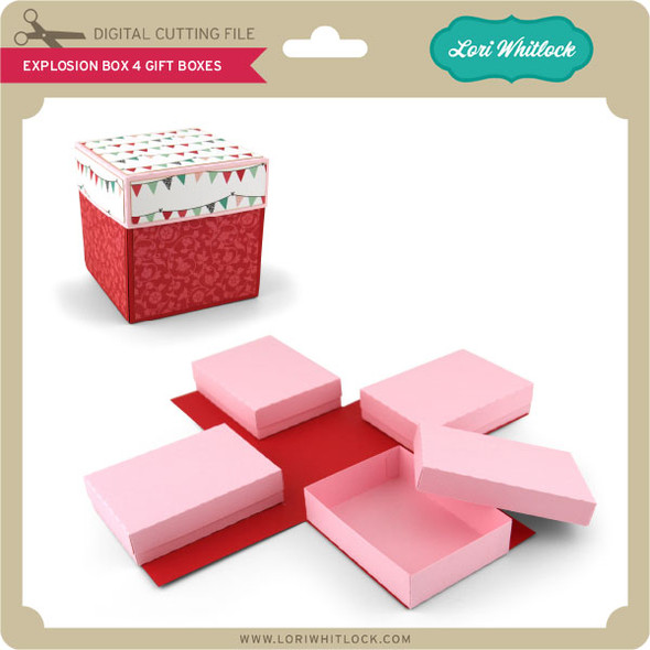 Explosion Box 4 Gift Boxes