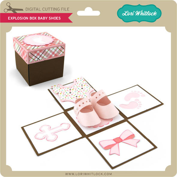 Explosion Box Baby Shoes