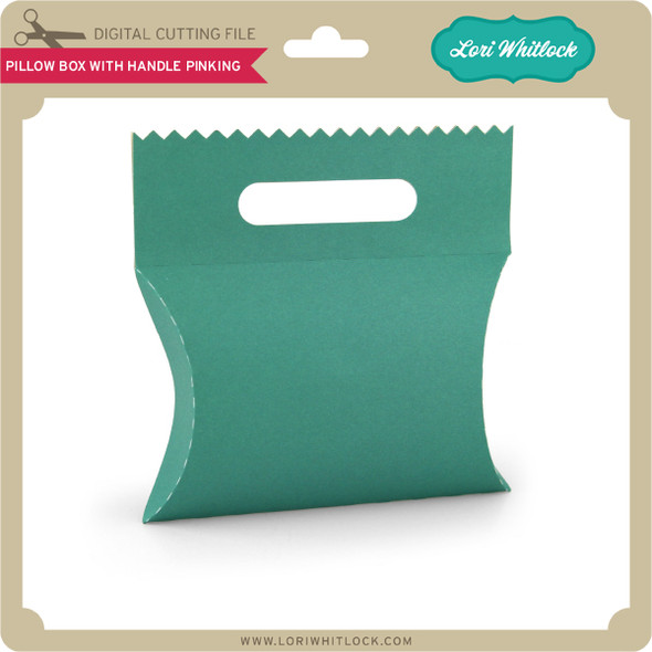Pillow Box with Handle Pinking