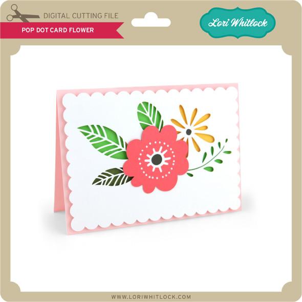 Pop Dot Card Flower