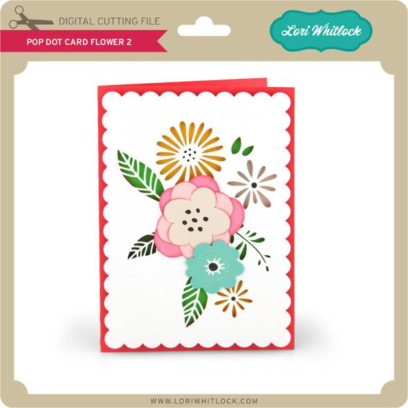 Pop Dot Card Flower 2