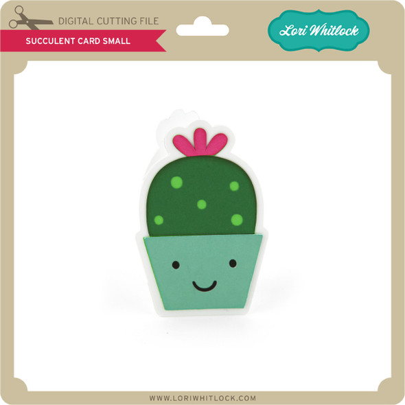Succulent Card Small