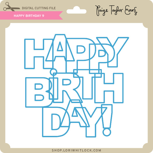 Happy Birthday 9