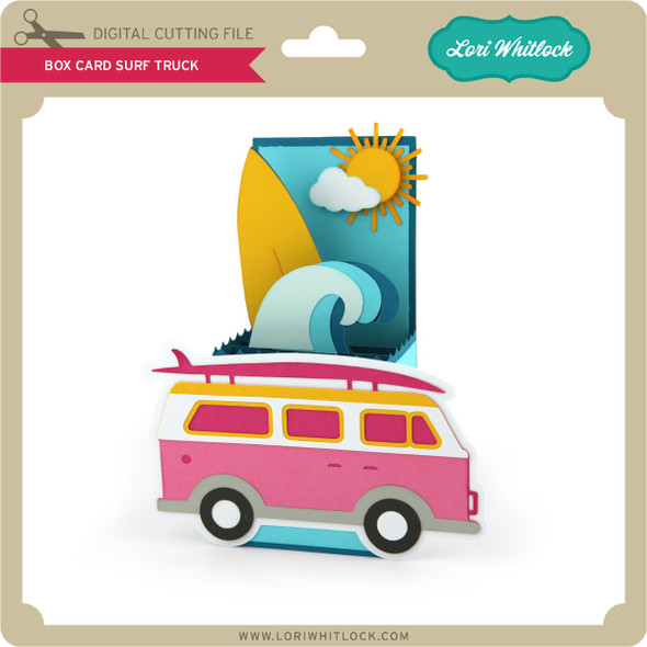 Box Card Surf Truck