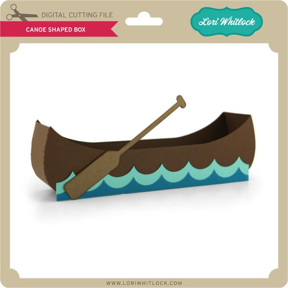 Canoe Shaped Box