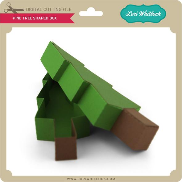 Pine Tree Shaped Box