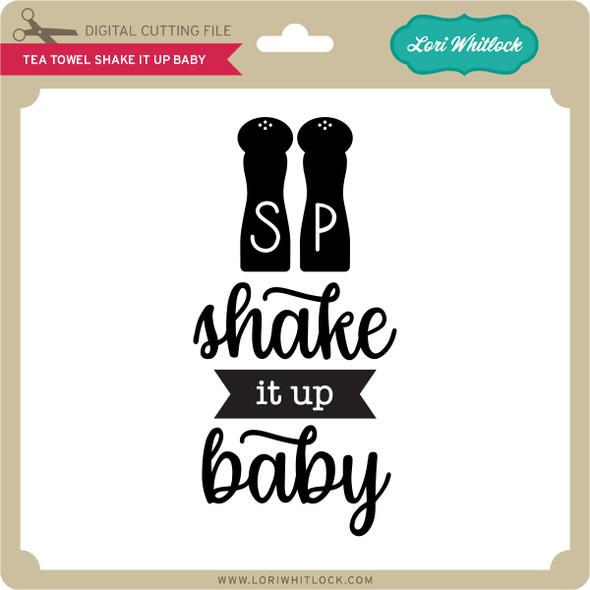 Tea Towel Shake it up Baby