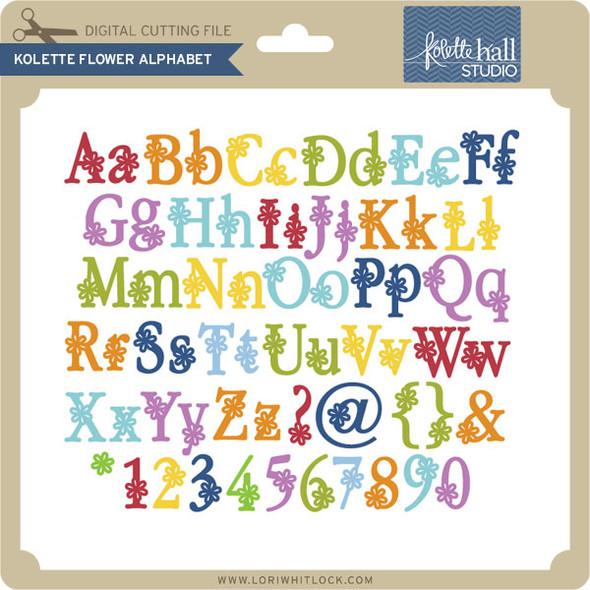 Kolette Flower Alphabet
