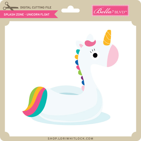 Splash Zone - Unicorn Float