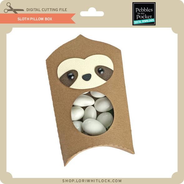 Sloth Pillow Box