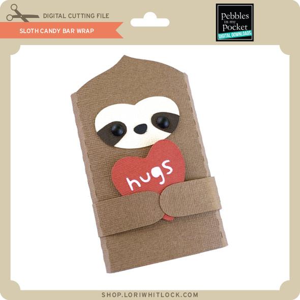 Sloth Candy Bar Wrap