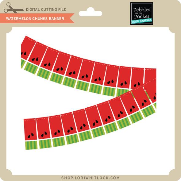 Watermelon Chunks Banner