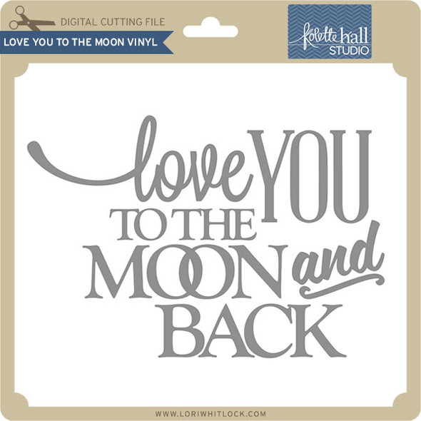 Love You to the Moon Vinyl