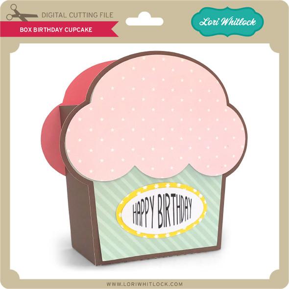 Box Birthday Cupcake