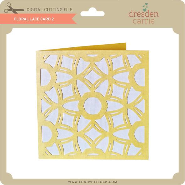 Floral Lace Card 2