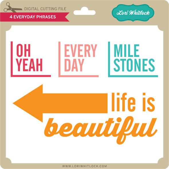 4 Everyday Phrases