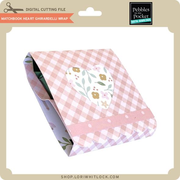 Matchbook Heart Ghirardelli Wrap