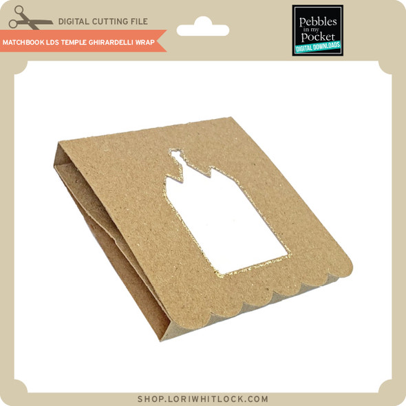 Matchbook LDS Temple Ghirardelli Wrap